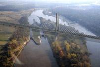 Neue Brücke in Polen